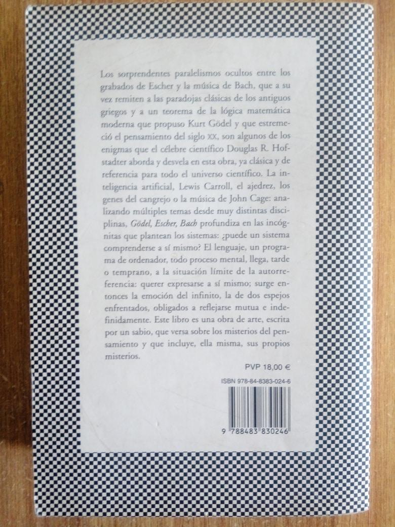 Gödel, Escher, Bach. un Eterno y Grácil Bucle - Douglas R